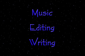 Music, writing, website